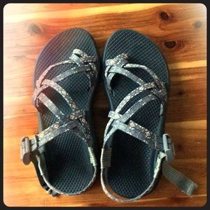 Chacos with toe strap